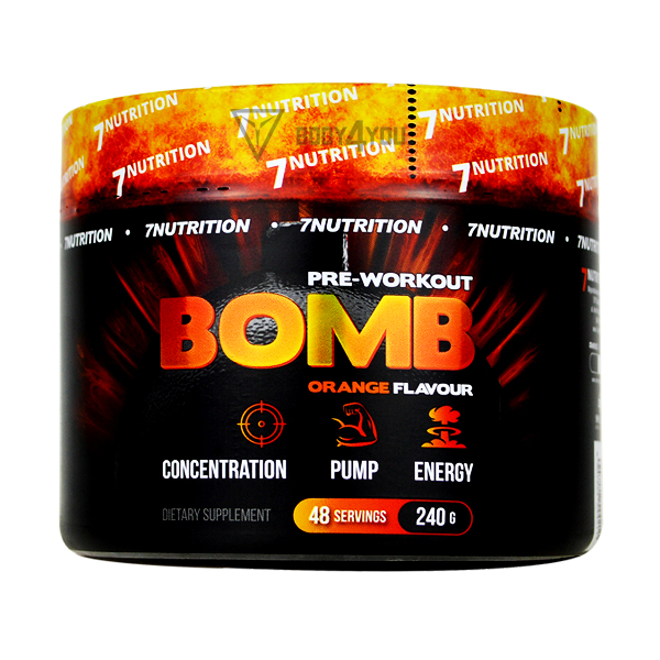 7 Nutrition BOMB pre-workout 240g