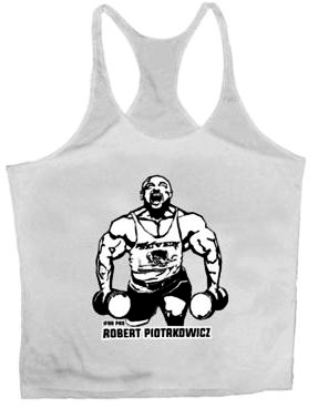 7 Nutrition Tank Top Piotrkowicz White M.