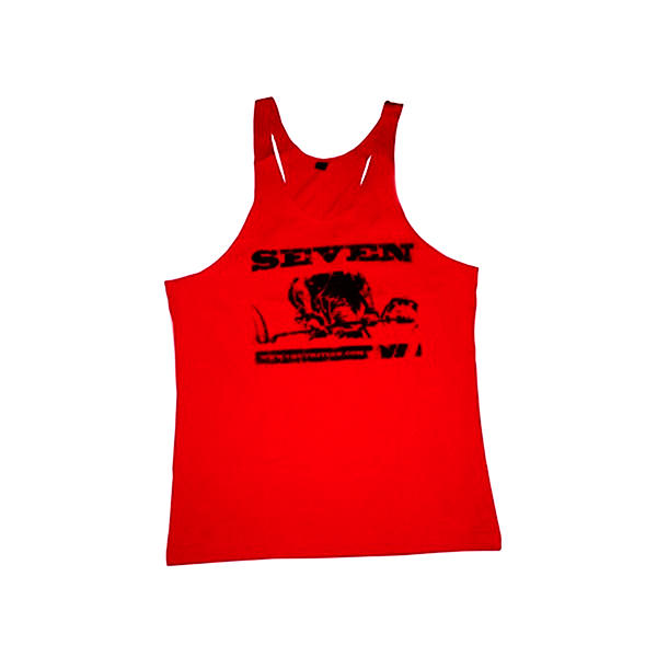 7 Nutrition Tank Top red XL.