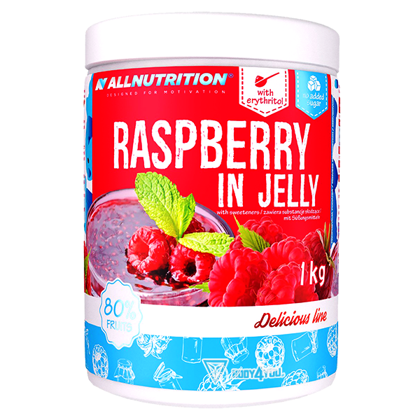 ALLNUTRITION Raspberry In Jelly 1000g.