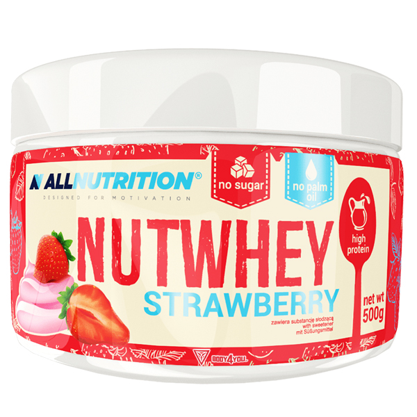 ALLNUTRITION Nutwhey Strawberry 500g.