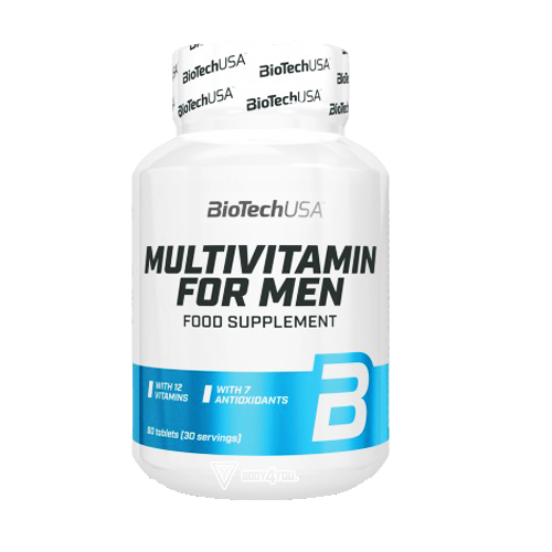 BIOTECH USA Multivitamin for MEN 60tabl.