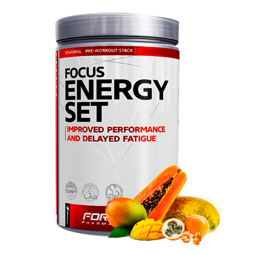 FORMOTIVA FOCUS Energy set 480g.