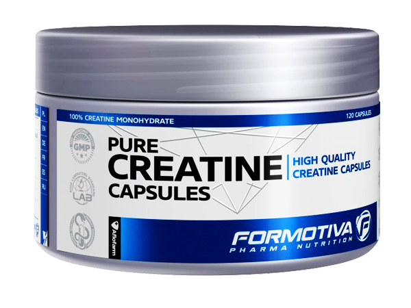 FORMOTIVA Pure Hcl Creatine 120caps.