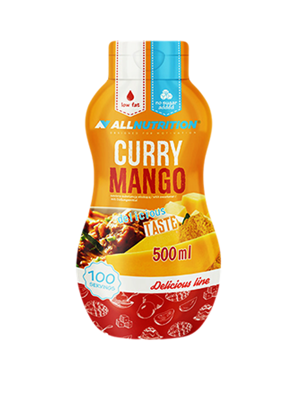 ALLNUTRITION Sos Zero curry mango 500ml.