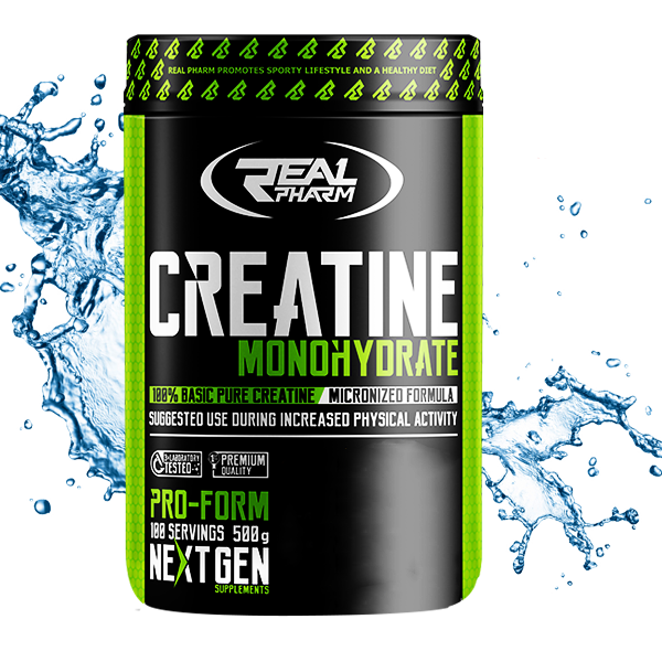 REAL PHARM Creatine Mono 500g.