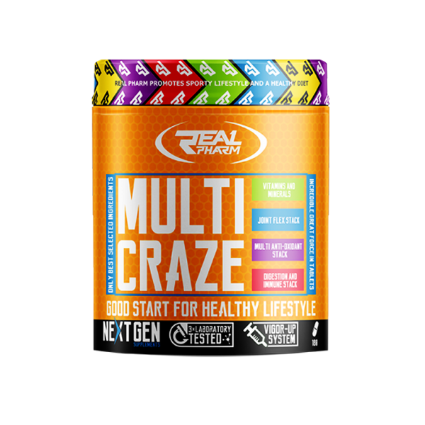 REAL PHARM Multi Craze 270tabl.