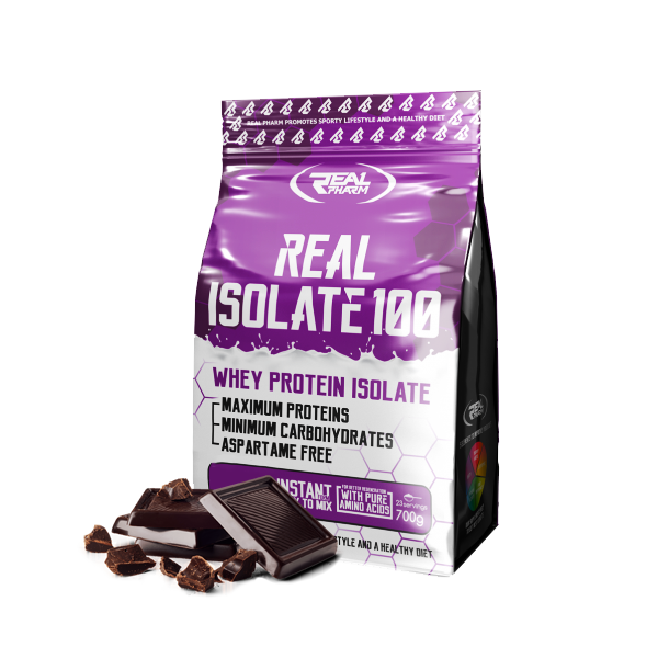 REAL PHARM Real Isolate 100 700g.