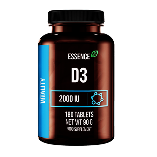 Sport Definition Essence D3 2000IU 180tabl.