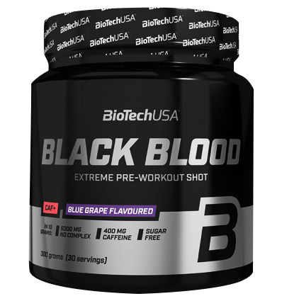 BIOTECH Black Blood CAF+ 300g.