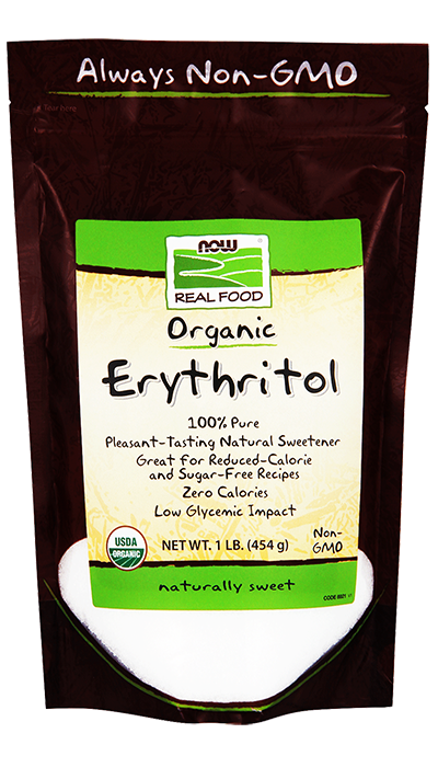 REAL FOODS Organic Erythritol 454g.