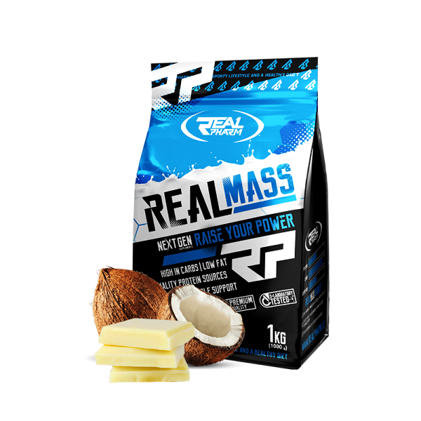 REAL PHARM Real Mass 1000g.