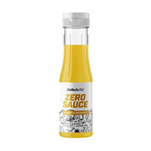 BIOTECH Sauce zero 350ml curry
