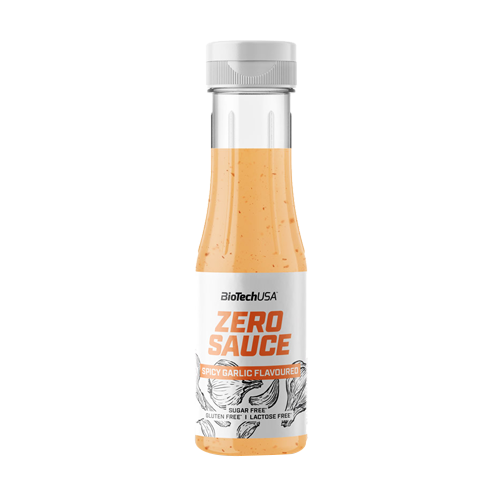 BIOTECH Sauce zero 350ml spicy garlic
