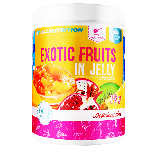 ALLNUTRITION Exotic Fruits in Jelly 1000g