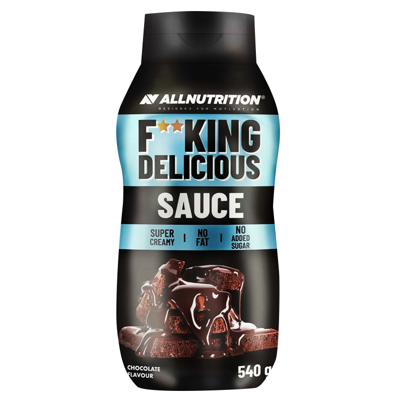 ALLNUTRITION F**king delicious sauce chocolate 540g.